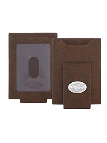 (ZEP-PRO Oklahoma State - Crazy Horse Leather Front Pocket)