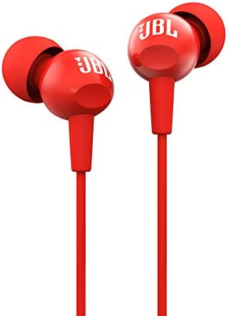 ef3b8cb863f JBL C100SI In-Ear Headphones with Mic (Red): Buy JBL C100SI In-Ear  Headphones with Mic (Red) Online at Low Price in India - Amazon.in