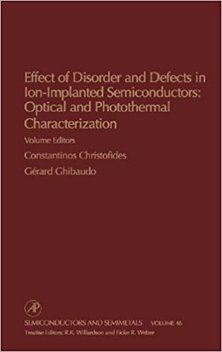 Book Effect of Disorder and Defects in Ion-Implanted Semiconductors: Optical and Photothermal Characterization: 46 (Semiconductors and Semimetals)