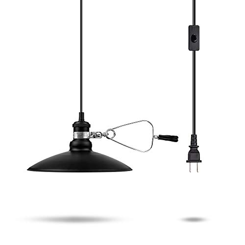 Black Pendant Light Shade in US - 3