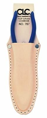 CLC Custom Leathercraft 767 Plier Holder, 2.5 in., Top Grain Leather