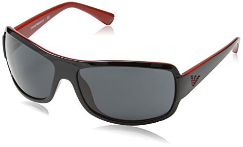 Emporio Armani EA 4012 Men's Sunglasses Top Black On Red - Giorgio Armani Top