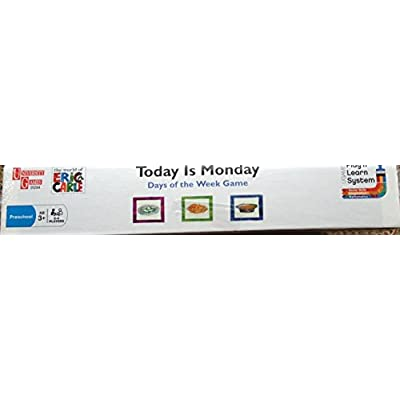 Today is Monday-Days of the Week Game-The world of Eric Carle: Toys & Games