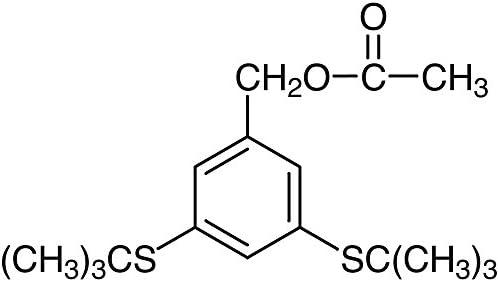 TCI America: 3, 5-Bis(tert-butylthio) Benzyl Acetate, B2662-1G, 98 0