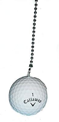 Golf Ball golfer golfing themed Ceiling FAN PULL light chain (Callaway)