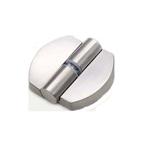 Flyshop Toilet Stainless Steel Lift Off Hinge Right Handedness Silver Oval Shape by Flyshop