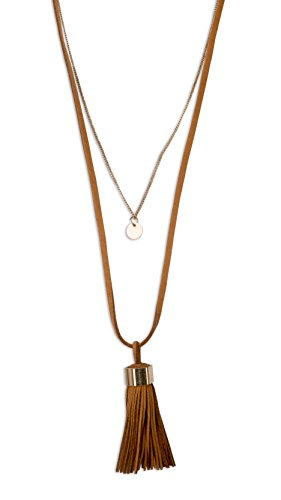 Leather Layered Necklace Burnished SPUNKYsoul