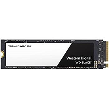 WD Black 500GB High-Performance NVMe PCIe Gen3 8 Gb/s M.2 2280 SSD - WDS500G2X0C