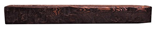 Solid Mahogany Fireplace Mantel (Dogberry Collections Solid Timber Mantel Fireplace Shelf, 48