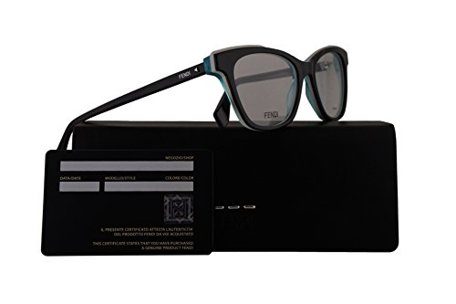 Fendi FF0256 Eyeglasses 50-17-140 Black w/Demo Clear 50mm Lens 807 FF - Spectacle Frames Fendi