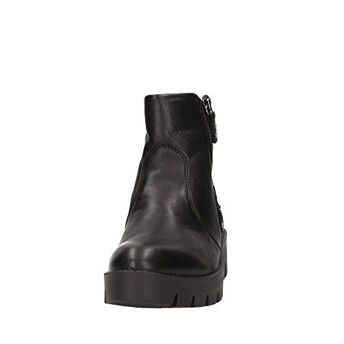 ankle IGI boots Black wedge amp; Nero women zip shoes CO 68000 ZZ4rwgUq