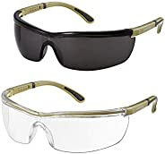 Mpow Safety Glasses Eye Protection Goggles, Clear Lenses UV Protection Anti-fog