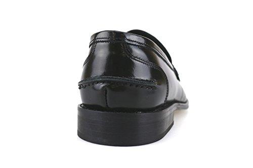 scarpe uomo BRUNO VERRI mocassini nero pelle AH462