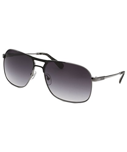 Guess Gu6774-Gun-35-60 Aviator Gunmetal Black Gradient Lenses - Guess Aviator