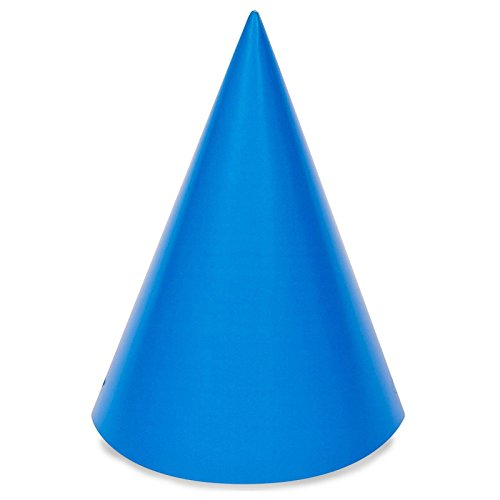 Blue Cone Party Hats (Blue Cone Party Hats (8))