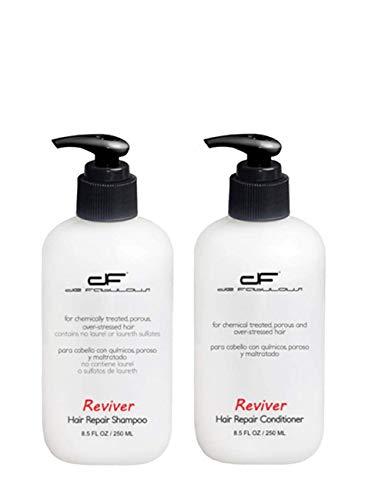 - De Fabulous Shampoo and Conditioner Reviver Set Sulfate Free for Keratin Treatment 8oz
