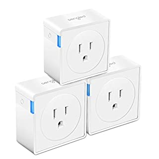 Sengled Plug Smart Outlet Compatible with Alexa and Google Assistant Hub Required APP Control Timer Function Type B Mini Smart Socket (3 Pack)