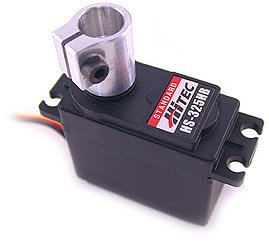 4mm Hitec Servo to Shaft Coupler ServoCity