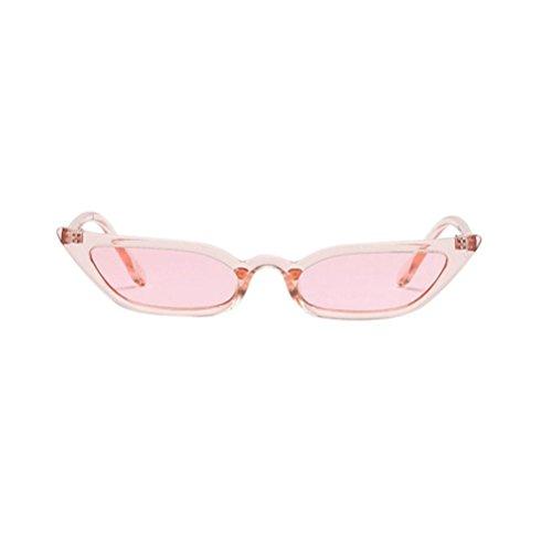 Y56 Cat En Plage Lentille Voyage Sunglasses Lunettes pour De Eye Rose Plastique Coloré Soleil Vintage raR1wqrAx5