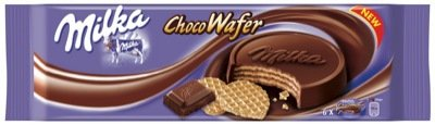 Wafers Choc (Milka Choco Wafer, New, 6 Packages With Each 180 Grams, Total 1080 Grams)