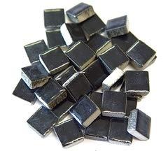 (Jennifer's Mosaics 1-Pound 3/8-Inch Deco Ceramic Mosaic Tile, Black)