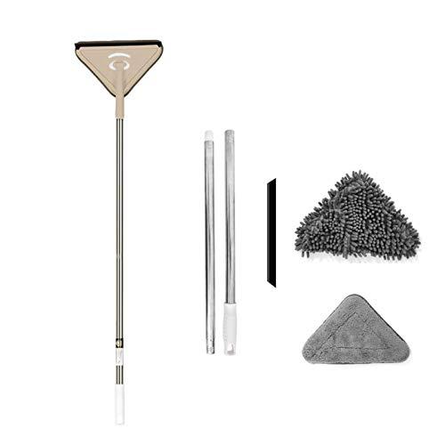 AWSA Microfiber Chenille Deep Clean Mop Instelbare Deep Clean Mop Flexibele 360 graden rotatie Deep Clean Mop…