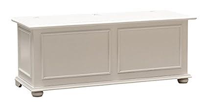 Mobili In Legno Bianco : Pieffe mobili cassapanca cipolla contenitore legno bianco x