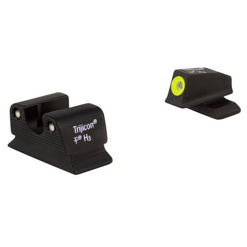 Trijicon 3 Dot Green Front and Green Rear Night Sights for Beretta 92A1 and 96A1 Pistols (Best Tactical Light For Beretta 92a1)