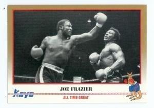 Joe Frazier boxing card 1991 Kayo #248 ()