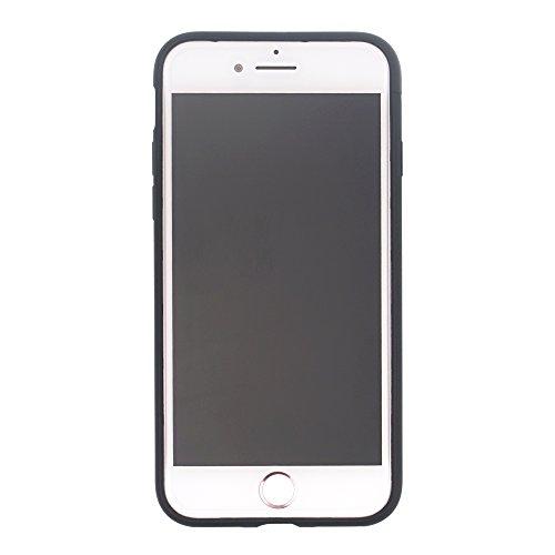 Funda iPhone 6S Plus / iPhone 6 Plus [Protección híbrida contra caídas] DISNEY Linda Doble Capa Hybrid Carcasas [TPU + PC] Parachoques Cubierta [ iPhone 6S Plus / 6 Plus ] - Minnie Mouse Look Down Cinderella Aqua (iPhone 6S Plus / 6 Plus)