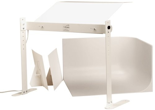 MyStudio MS20 Professional Table Top Photo Studio Lightbox Kit w/ 5000K Lighting for Product Photography, 20x20x12 inches by MyStudio