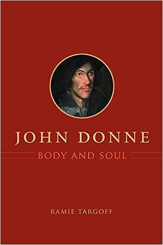 John Donne, Body and Soul: Ramie Targoff: 9780226789644: Amazon.com ...