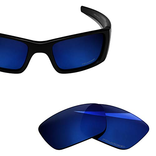 - BlazerBuck Anti-salt Polarized Replacement Lenses for Oakley Fuel Cell OO9096 - Midnight Blue