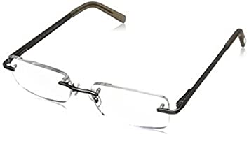 38e3017825e Image Unavailable. Image not available for. Color  Foster Grant Men s Blake  Rectangular Rimless