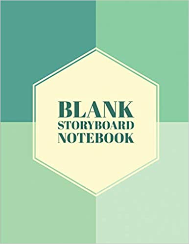 Libro Kindle Fire no descargable Blank Storyboard Notebook: Storyboard Sketchbook Paper Template Panel Pages For Storytelling, Filmmakers, Advertisers, Animators, And More. Size 8.5 X ... (volume 10)