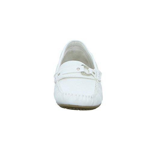 Damen Halbschuh Weiß 11AB41526 Weiß Alyssa Slipper Casual aw6Wpq