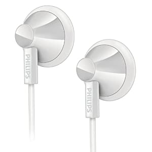Philips SHE2105WT Écouteurs intra auriculaire pour Lecteur mp3 Blanc