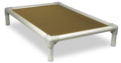 Kuranda Almond PVC Chewproof Dog Bed – XL (44×27) – Ballistic Nylon – Gold, My Pet Supplies