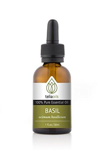 Basil Essential Oil 30 Ml / 1 Oz. 100% Pure, Undiluted, Therapeutic Grade