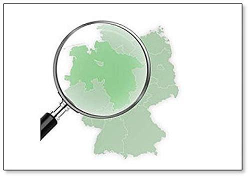 Amazon Com Landkarte Deutschland Niedersachsen Vergraÿert