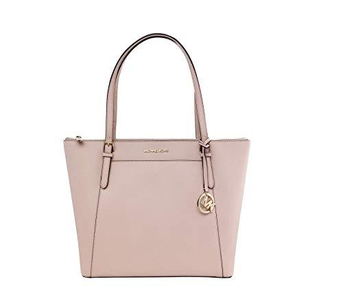 - MICHAEL Michael Kors Ciara Large East West Top Zip Tote - Pastel Pink