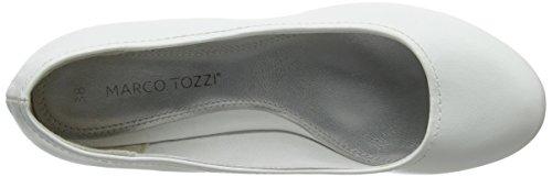 28 White Blanco a Marco Tozzi de 22308 Mujer Cu Zapatos Cnzqpn8w