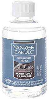(Yankee Candle Warm Luxe Cashmere Reed Diffuser Oil Refill 4 Fl Oz)