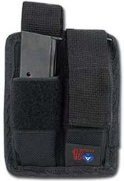 Ace Case Pistol MAG Magazine Pouch Holster for M9, 1911, 9MM, 45 ACP - Made in U.S.A. ()