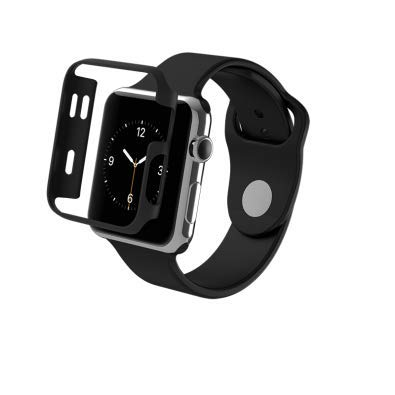ZAGG Luxe Apple Watch Protective Bumper Case - (Black, 38mm)