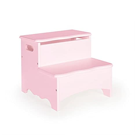 Brilliant Amazon Com Guidecraft Classic Storage Step Up Pink Toy Camellatalisay Diy Chair Ideas Camellatalisaycom