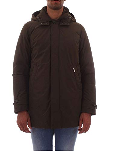 Coat Woolrich Wocps2702 Blu Giubbotto Green City Uomo Dark OqxrEPaqw