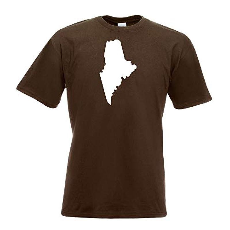 미국 - 메인 아우구스타 T셔츠 프린트 디자인 프린트 기프트・아이디어