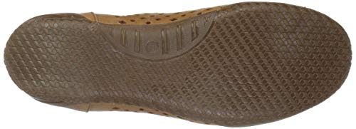 Brown On Medium Style Shoe Leather Hena Spring Step Slip Women's acgpqwaF7z