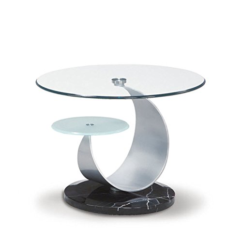 global-furniture-clear-frosted-glass-black-occasional-end-table-with-silver-marble